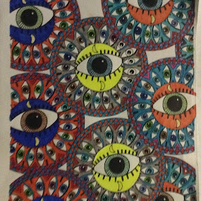Eyes on you by Linda Tribuli - Drawing All Drawing