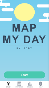 Map My Day - screenshot