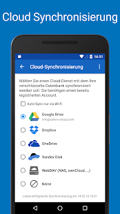 Passwort Manager SafeInCloud™ Screenshot