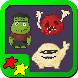 Kids Puzzles Monsters