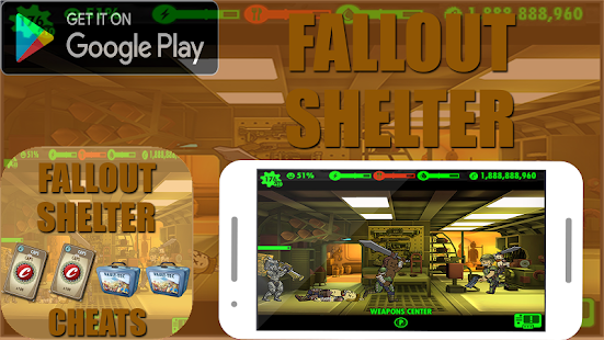 Cheats For Fallout Shelter Prank APK for Kindle Fire