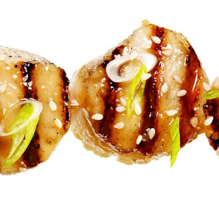 Miso-Glazed Grilled Scallops