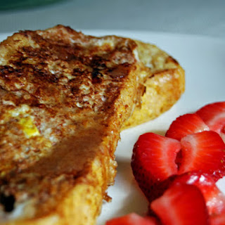French Toast with Honey Vanilla Bean Butter