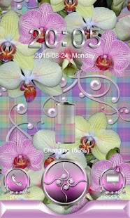 How to download Tender Orchids Go Locker theme lastet apk for android