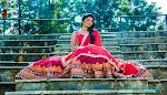 Buy Jaipuri Design Saree With Silk Blouse in Blue - High Trend Mart