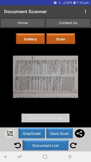 Ultra Scanner Screenshot 2