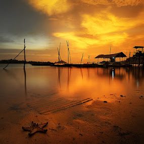 Alone and Silent by Echi Amenk Fariza - Landscapes Waterscapes