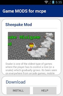 Free Game MODS for mcpe APK for Android