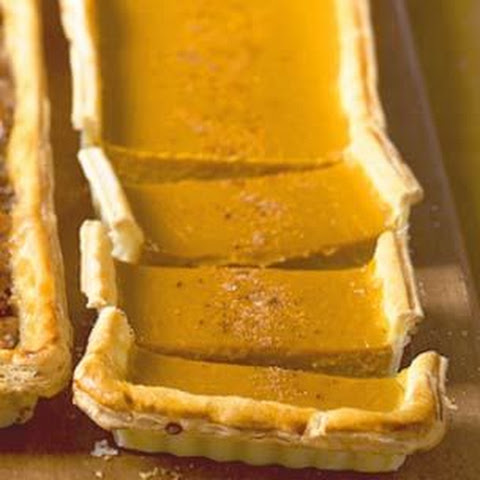 Pumpkin Tart Puff Pastry Recipes | Yummly