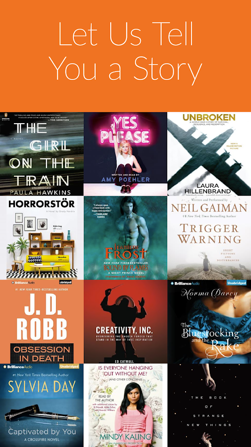 Audio Books by Audiobooks Screenshot 0
