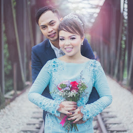 by Deenna Aziz - Wedding Bride & Groom ( wedding, malaywedding, adeenaaziz, singapore )