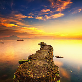 A Path to Heaven by Satrya Prabawa - Landscapes Sunsets & Sunrises ( pwcpath, pwcpaths )