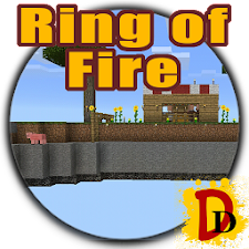 Ring Of Fire Minecraft map