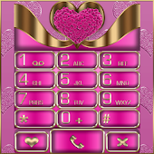 Pink Love EX Dialer theme
