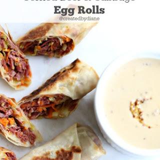 Corned Beef Egg Rolls Recipes