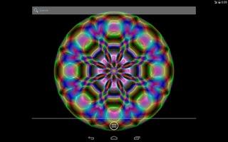 Screenshot of Mandala Live Wallpaper
