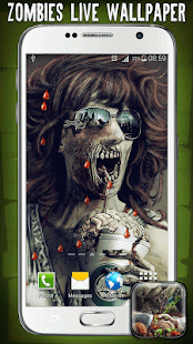 Zombies Live Wallpaper - screenshot