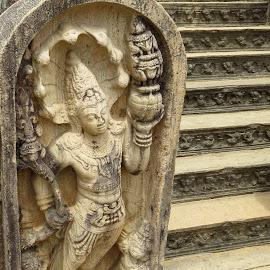 Guardian by Janith Warnakulasuriya - Artistic Objects Antiques ( buddhism, artistic objects )