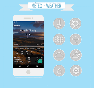 Météo & Weather screenshot for Android