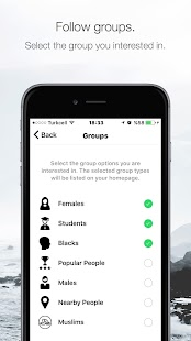 Fly - Group Dating - screenshot