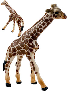 "Игрушка-фигурка серии ""Город Игр"", жираф L, коричневый"