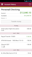 Screenshot of Town & Country Mobile Banking