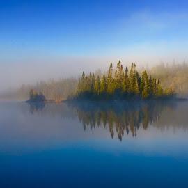 Island Reflection  by Debbie Squier-Bernst - Instagram & Mobile iPhone