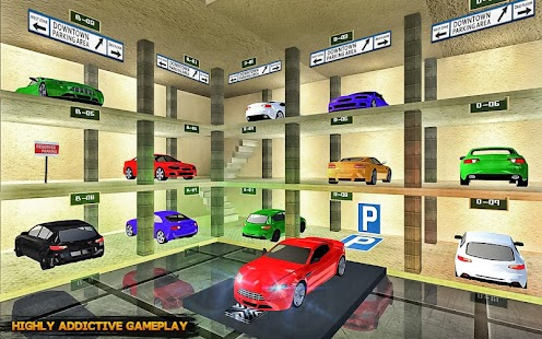 Roadway Multi Level Car Parking Game Für PC Windows & Mac