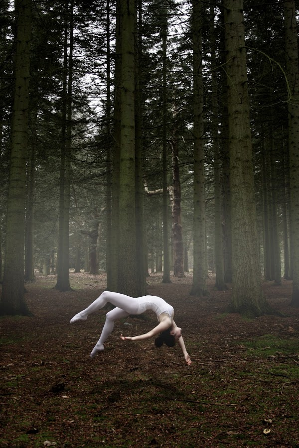Levitation by Marta Gaspar - Sports & Fitness Fitness ( nature, woman, ballett, levitating )