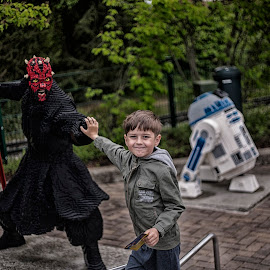 Darth Maul vs Leo by Ivan Kovaček - Babies & Children Child Portraits ( darth maul, star wars )
