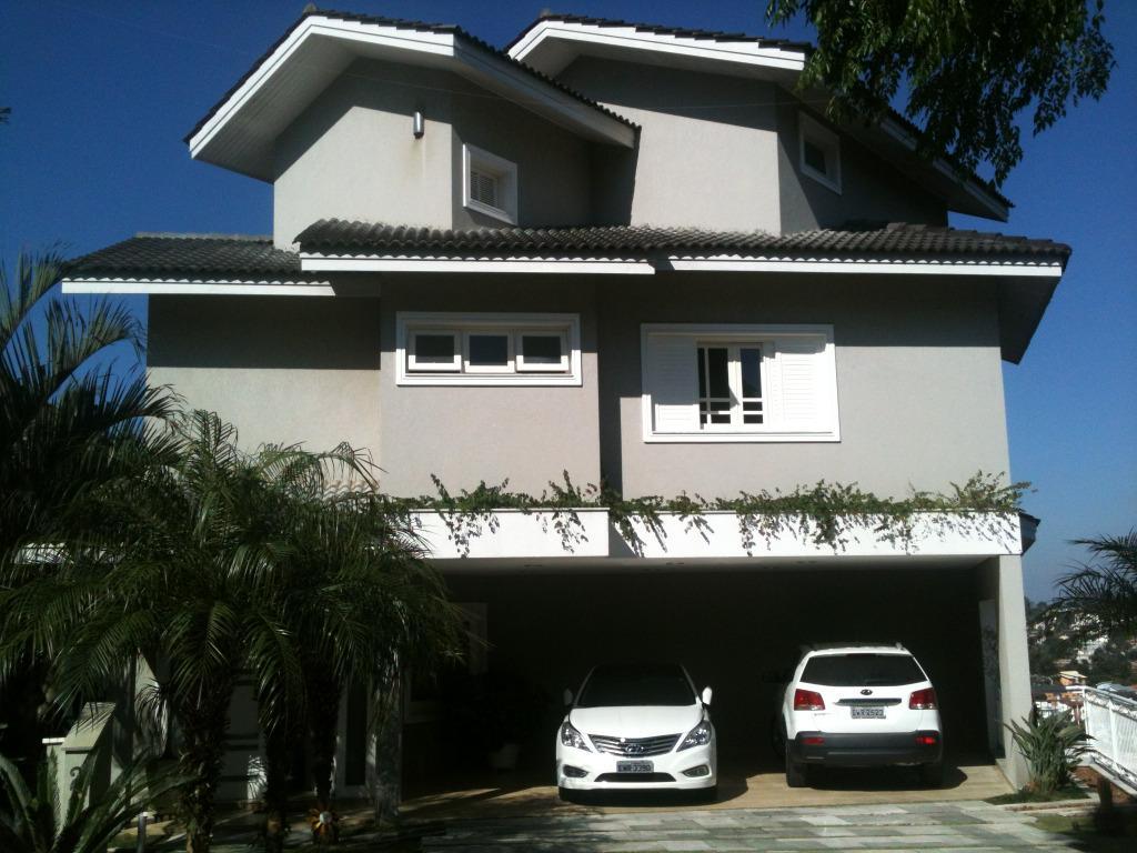 Lindo sobrado residencial com 03 pisos em Condomínio fechado Arujá V - Jd. Fazenda Rincão - Arujá - SP,