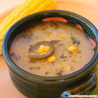 Corn Soup With Jalapeños