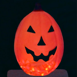 Halloween 2 by RMC Rochester - Public Holidays Halloween ( abstract, holiday, macro, decoration, pumpkin, colors, art, random, night, object, light, halloween,  )