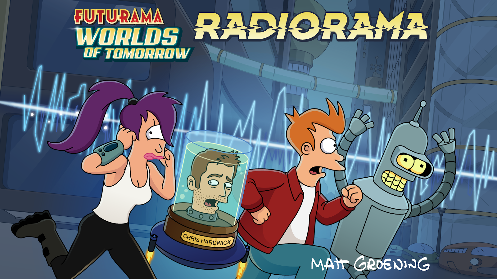 Futurama: Worlds of Tomorrow Screenshot 0