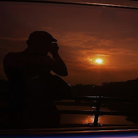 captured by the car mirror by Widi Jatmiko - Artistic Objects Other Objects (  )