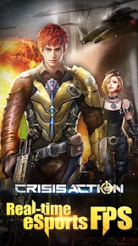Crisis Action-FPS eSports apk screenshot