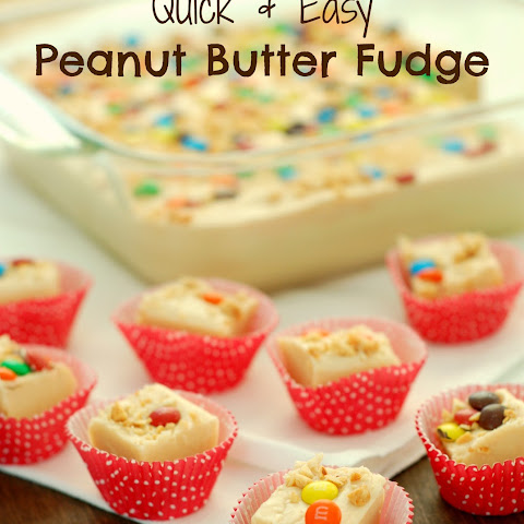 Quick & Easy Peanut Butter Fudge