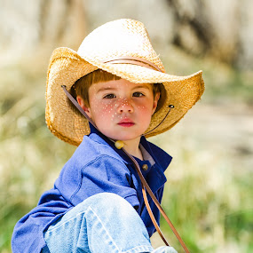 Cowboy Serious by Billy Brooks - Babies & Children Children Candids