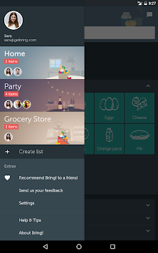 Bring! Shopping List APK screenshot thumbnail 10