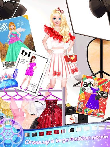 Fashion Star Dress Up Salon - Makeover Girl Game