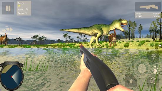 Скачать игры на андроид охота на динозавров