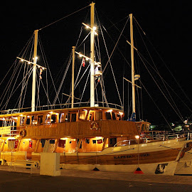 boat Kapetan Jure by Bernarda Bizjak - Transportation Boats