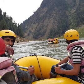 Rafting 2 by Faraz Malik - People Group/Corporate