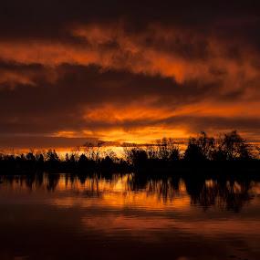 Sunrise Fort Collins by Brandon Downing - Landscapes Sunsets & Sunrises