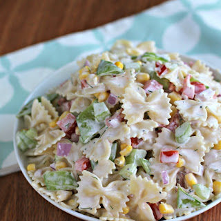 Bowtie Pasta Salad With Dill Recipes