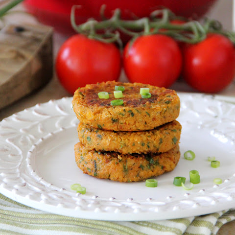 Sweet Potato Chickpea Patties