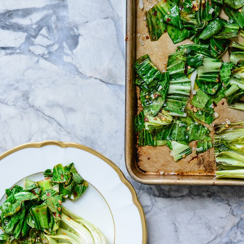 Roasted Bok Choy