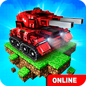 Game Blocky Cars Online fun shooter APK for Windows Phone