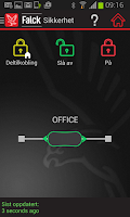 Screenshot of Falck Alarm