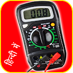 How to use Multimeter in Hindi Icon